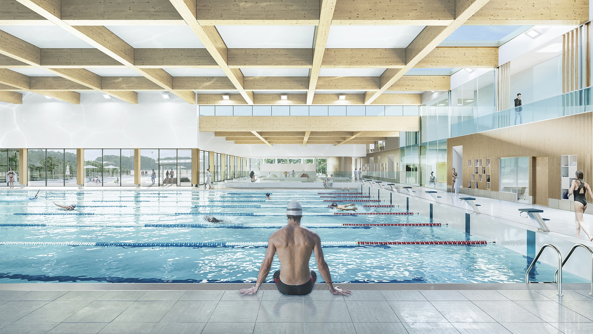 Centre aquatique olympique-La Courneuve(93)
